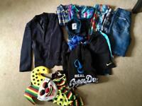 Bundle of boys clothes age 12-14, ideal for car boot