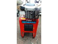 GENERAC COMPACT 2KW PETROL GENERATOR MOTORHOME, CARAVAN, BOAT, SNACKBAR BUILDING SITE GOOD CONDITION