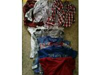 Boys t-shirts/shirts 2/3 years