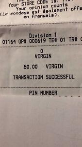 Virgin phone time