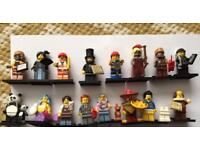 Lego movie series minifigures 100% complete perfect condition