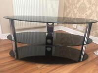 Large Oval Television Stand