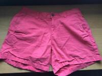 UNIQLO PINK SHORTS. WAIST 27 inch. New without tags