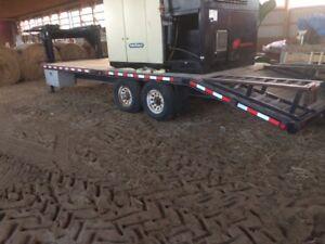24x8 gooseneck trailer