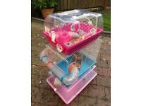 3 Hamster Cages