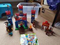Lego Duplo knight & castle set