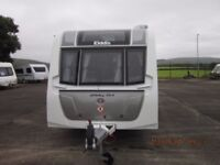 2016 ELDDIS AFFINITY 554 4 BERTH CARAVAN WITH MOTORMOVER AND FIXED ISLAND BED ANDERSON CARAVAN SALES