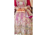 2 x Lenghas, Bridal outfits for sale