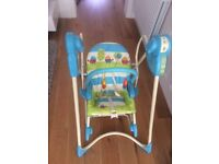 NEW - Fisher Price 3-in-1 Swing 'n Rocker