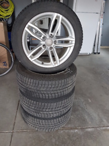 Winter is coming...AUDI aftermarket rims and snow tires