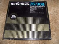 Reel to reel Maxell 35-90B. 9.5cmps [3/14ips] David Bowie