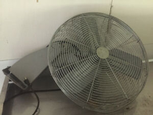 Commercial oscillating fan