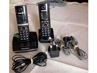 Panasonic twin Cordless telephone with answering machine Good Condition.