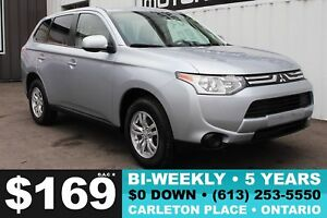 2014 Mitsubishi Outlander ES LOCAL TRADE!