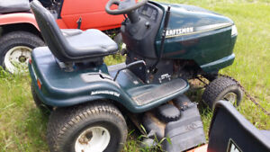 Craftsman lawn tractors for sale!