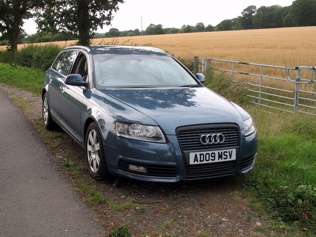 audi a6 c6 facelift new shape 2 0tdi manual estate in very good condition in ashford kent. Black Bedroom Furniture Sets. Home Design Ideas