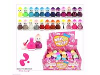 24 Bottles x Nail Polish Baby Doll Shape 24 Different Colours (Set A) Gift Box