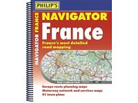 Road Atlas of France - brand new — RRP £20