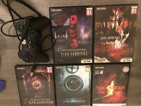 Resident Evil bundle with 2 joysticks (PC)
