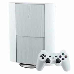 White limited edition 500gb PS3 with games.