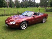 Jaguar XKR Convertible 4 litre supercharged (future classic)