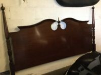 Beautiful antique style headboard
