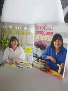 Set of 2 Barefoot Contessa Cookbooks