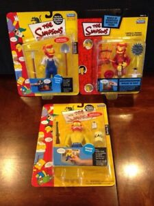 Groundskeeper Willie Action Figures 3pcs