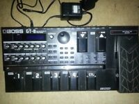 Boss gt8 multifx guitar effects pedal