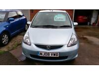 HONDA JAZZ 1.4 DSi SE 101K WITH FSH AIR CON ALLOYS ONLY £14 WEEK P/LOAN 2008