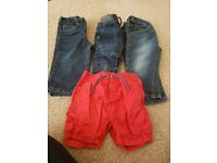 Boys bundle of trousers