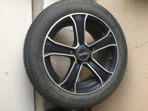 """16"""" Racing rims and tires"""