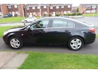 BLACK VAUXHAL INSIGNIA 2011 FOR SALE