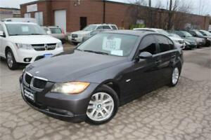 2006 BMW 325Xi-AWD KM:185,000 PRICE:$7,890 SUNROOF LEATHER FULLY
