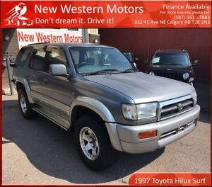 1997 Toyota 4Runner HILUX SURF!! RIGHT HAND DRIVE!! LOW KM!!!!