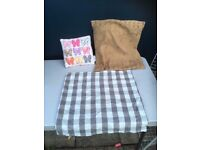 Pillows and Pillow Case - £4.00