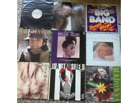 9 VINYL LP. ( MIXED. P&P £ 3.50 ONLY IN UK. ( USED.