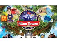 2 x alton towers tickets - valid for Sunday 3rd September - only £30 for both