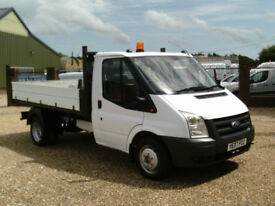 Ford Transit 350 DROPSIDE TIPPER TRUCK ONE STOP 2007