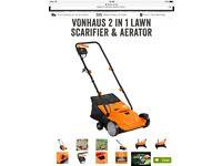 Vonhaus Electric Lawn Scarifier/aerator
