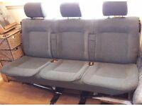 VOLKSWAGEN CARAVELLE T4 Rear Triple Seats (1992-2003?)