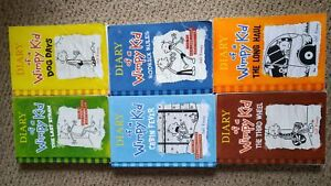 Diary Of A Wimpy Kid book lot