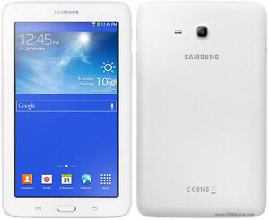 Samsung T113 Galaxy Tab 3 Lite 7inch tablet comes with case.