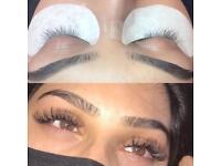 Luxury individual eyelash extensions