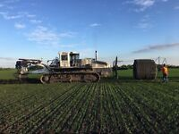 Operator and Labourer positions available for farm drainage