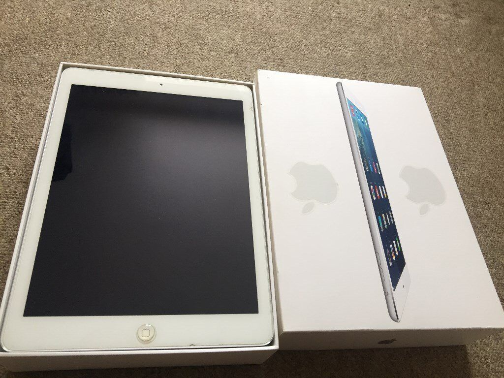 Apple iPad Air 16GB, Wi Fi Space Greyin Ilford, LondonGumtree - Apple iPad Air 16GB, Wi Fi Excellent condition used iPad no scratches on it. comes with box and case