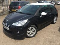 CITREON DS3 1.6 VTI DSTYLE 3 DOORFULL SERVICE HISTORY/LONG MOT 6 MONTHS TAX 3 MONTHS WARRANTY