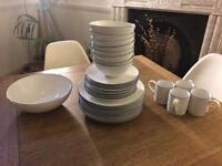 John Lewis Coastal Cote De Provence Tableware Crockery Set
