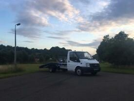 2007 ford transit lwb recovery truck 91000 miles