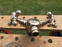 Brass Bath Tap Mixer and accessories
